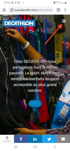 Candidature Spontanée à Décathlon - Demande de Stage & Emploi