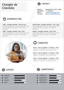 Exemple de CV Chargé de Clientèle