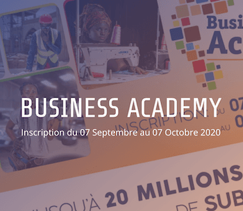 Concours Business Academy 2020